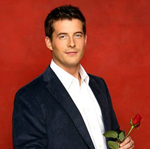 Matt, during his time as 'The Bachelor'