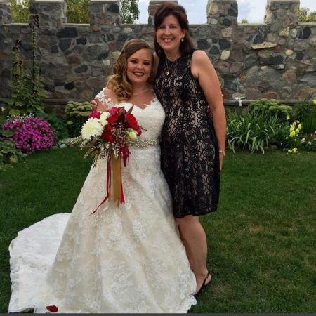 Catelynn in her wedding dress!