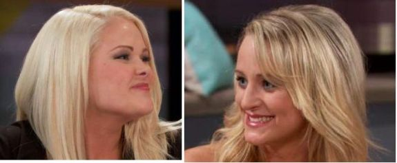 If you ever see two women making these faces at each other, just know that weaves are about to fly.