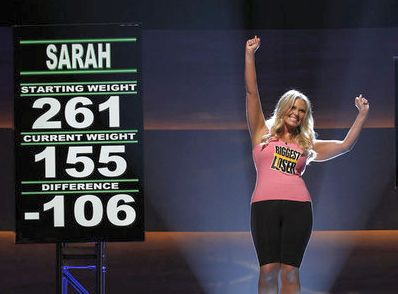 Former contestant Sarah Nitta says she's struggled with weight gain since appearing on the show.