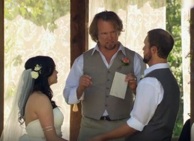 """""""You guys were just kidding when you said the vows couldn't have any fart jokes in them, right?"""""""